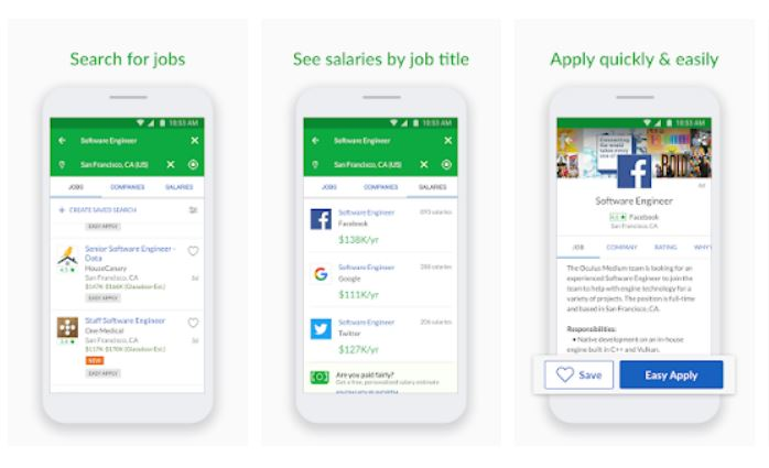 Glassdoor Jobs Job Search Salaries Reviews App Androidtrunk