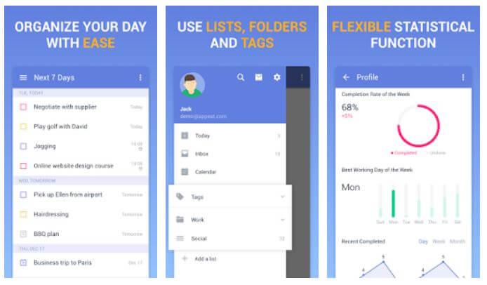 5 تطبيقات لإنشاء قوائم to-do للمهام اليومية